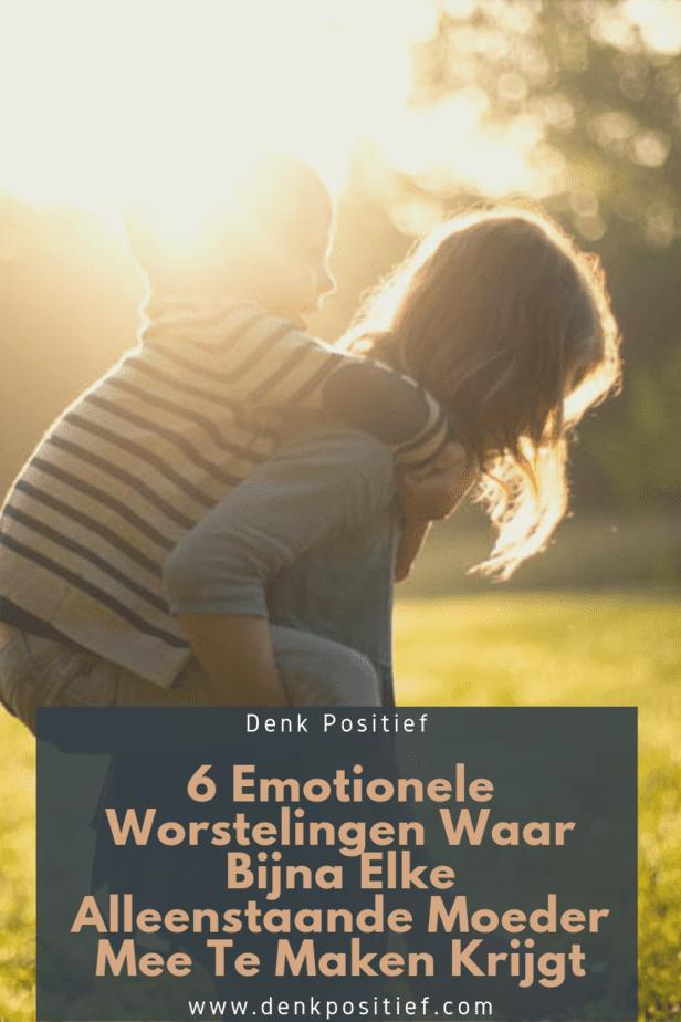 6 Emotionele Worstelingen Waar Bijna Elke Alleenstaande Moeder Mee Te Maken Krijgt