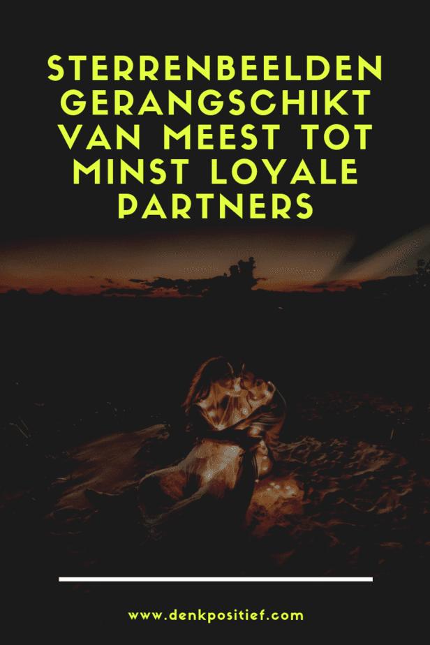 Sterrenbeelden Gerangschikt Van Meest Tot Minst Loyale Partners