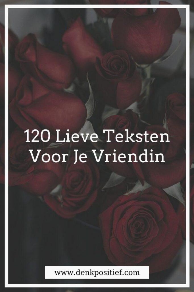 120 Lieve Teksten Voor Je Vriendin